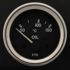 52mm Cobra Oil Temperature Gauge